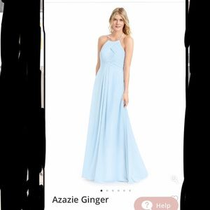 Azazie Ginger Bridesmaid Dress NWT